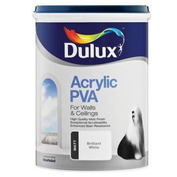 Dulux PVA Assorted Colours 5lt